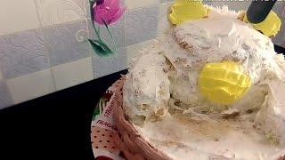 Как сделать кремовый торт Мишка Наталья Торт Sweet Stories