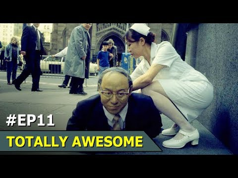 Crawling Robot Businessman in Melbourn | Momoyo | Totally Awesome