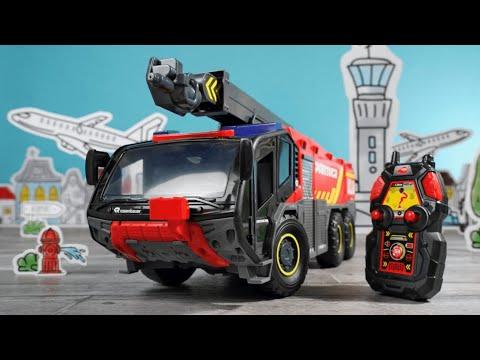 Spielzeug PANTHER groß inkl. Fernbedienung - Rosenbauer & Dickie Toys