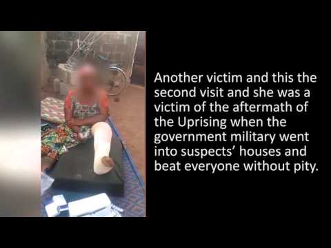 violence a mango, Togo, West Africa