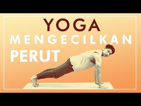 Cara Mengecilkan Perut Dengan Gerakan Yoga   Latihan Yoga di Rumah