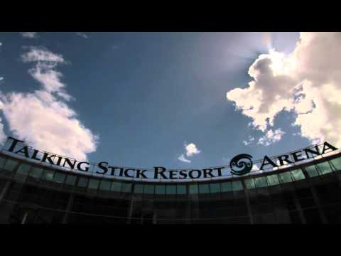 Timelapse of Talking Stick Resort Arena in Phoenix, AZ