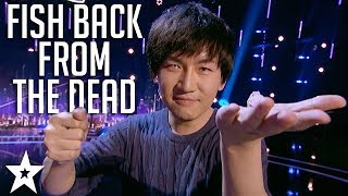Will Tsai Master Magician Brings Dead Fish Back to Life | America's Got Talent