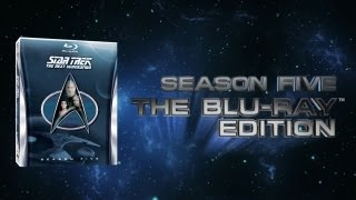 Star Trek TNG Season 5 Blu-ray Trailer