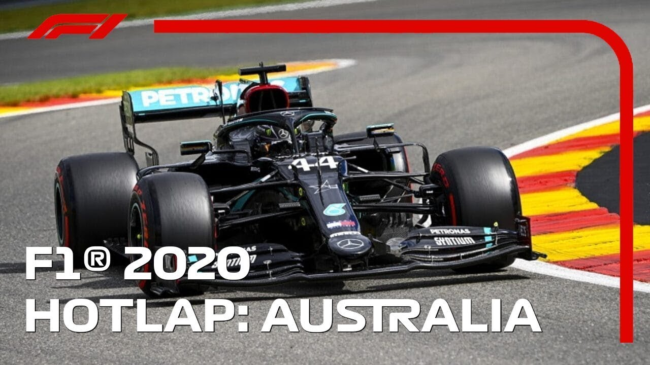 F1 2020 PS4 - Australia Hotlap + Setup - NO ASSIST - YouTube