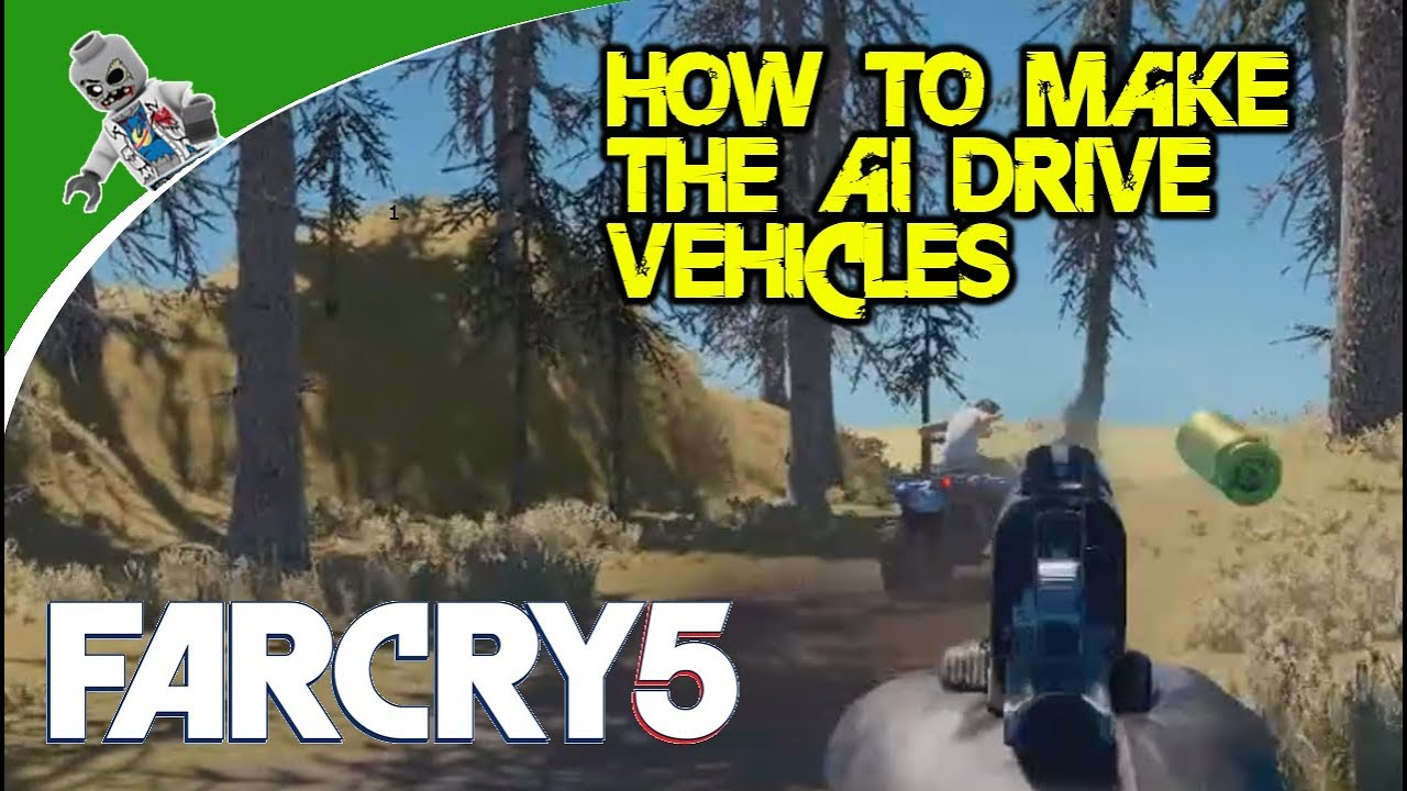 How To Make The Enemy Ai Drive Vehicles Far Cry 5 Map Editor Tutorial Youtube