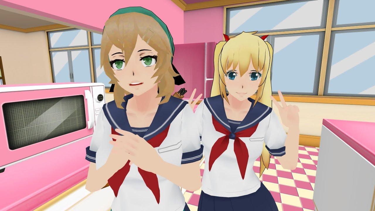 Adding kg-chan & New Amai Hairstyle!   Yandere Simulator