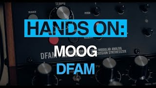 Moog DFAM – Hands-on