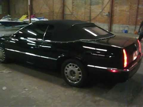 1995 cadillac eldorado convertible for sale youtube 1995 cadillac eldorado convertible for sale