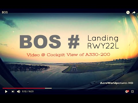 Landing @ BOSTON - Logan Int