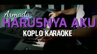 Harusnya aku - Armada - Versi Koplo Karaoke - Korg Pa50sd