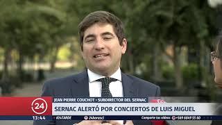 Luis Miguel llegó a Chile para presentar 4 conciertos en el país