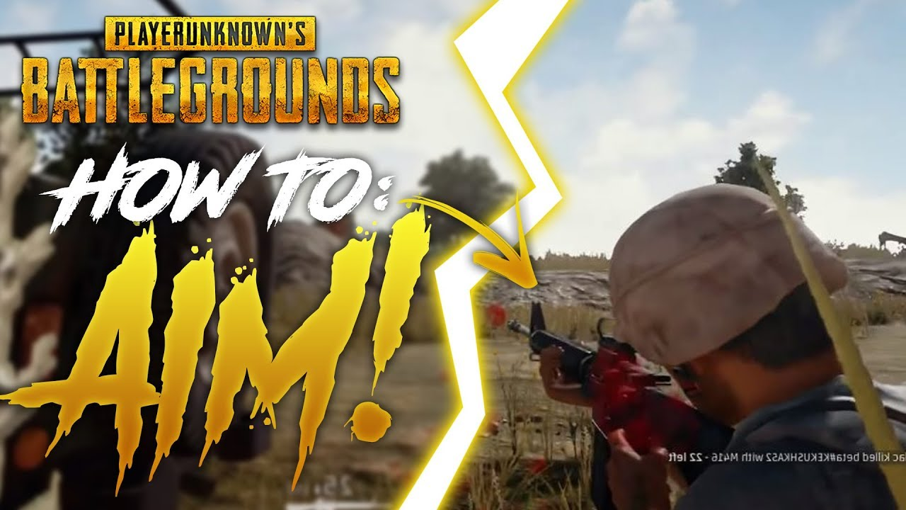 How To Better In Pubg: HOW TO IMPROVE YOUR AIM IN PUBG!! (Beginners)