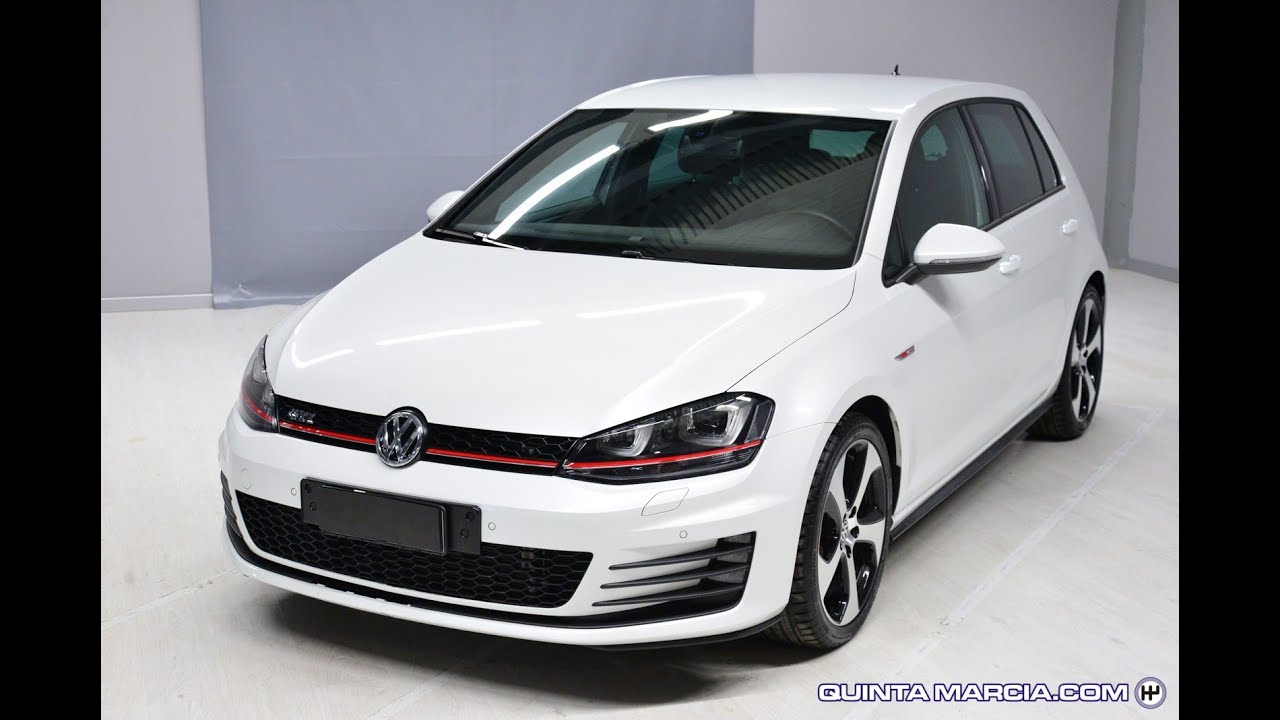 volkswagen golf 2 0 tsi dsg 5p gti performance bluemotion tech youtube. Black Bedroom Furniture Sets. Home Design Ideas