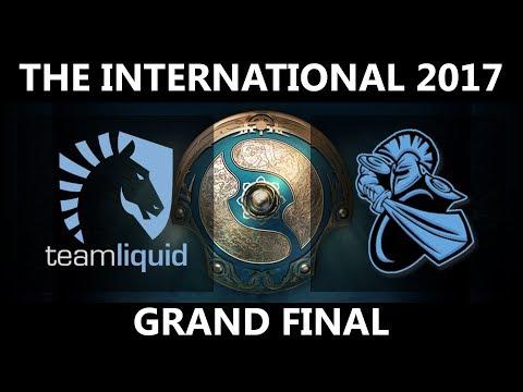 Team Liquid vs NewBee GAME 1, The International 2017 GRAND FINAL