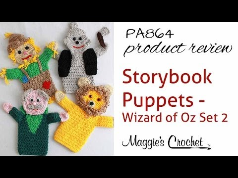 Storybook Puppets: Wizard of Oz Set 2 Pattern Product PA864