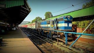 Rajendra Nagar (Patna) - New Tinsukia Express (LHB Rake) At GUWAHATI With SPJ WDM3D
