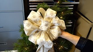 Christmas Tree Decoration or Present Bow