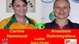 2017 BDO World Darts Championship  Semi Final Hammond vs Dobromyslova