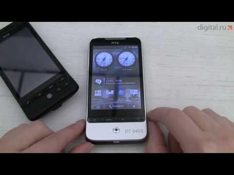 Видеообзор смартфона HTC Legend