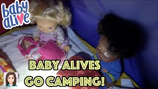 Baby Alives Go Camping! (Part 1)