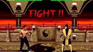 Mortal Kombat 2 -Johney Cage (Sega Genesis) (By Sting)