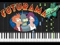 Futurama Main Theme Piano Tutorial mp3