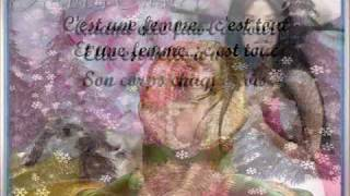 UNE FEMME C EST TOUT -JOHNNY HALLYDAY