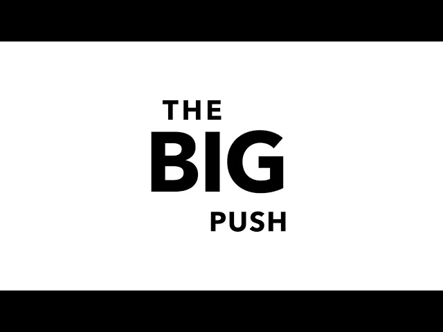 The Big Push. Live in Brighton, UK. April 2019, 13rd.