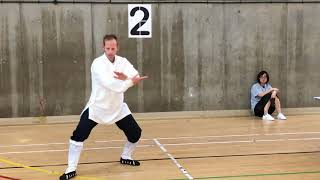 Gold Medal Winning Performance at The London 2018 Tai Chi Chuan Competition