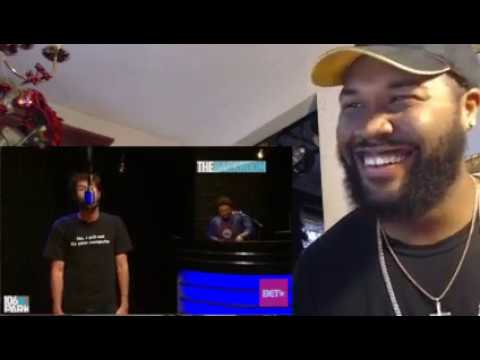Lil Dicky goes hard in the 106 & Park Backroom - REACTION