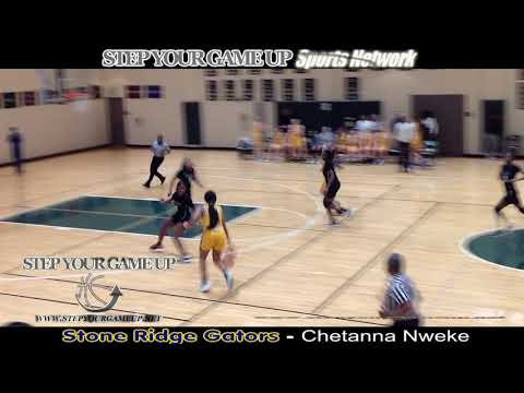 "Stone Ridge's Chetanna Nweke's Fastbreak ""MAKE WOMAN JUMP OUT OF PLAY"" Up & Under, GROWN WOMAN And-1"