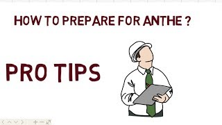 HOW TO PREPARE FOR ANTHE EXAM || PRO TIPS