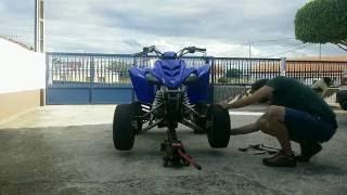 Rear Aluminum Wheel Spacers 45 mm for Yamaha RAPTOR 700 2006-2019