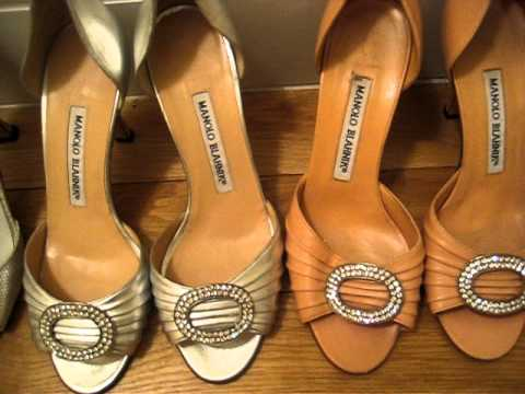 ff3883e8031b7 My Manolo Blahnik Collection! Family High Heels Shoes video! - YouTube