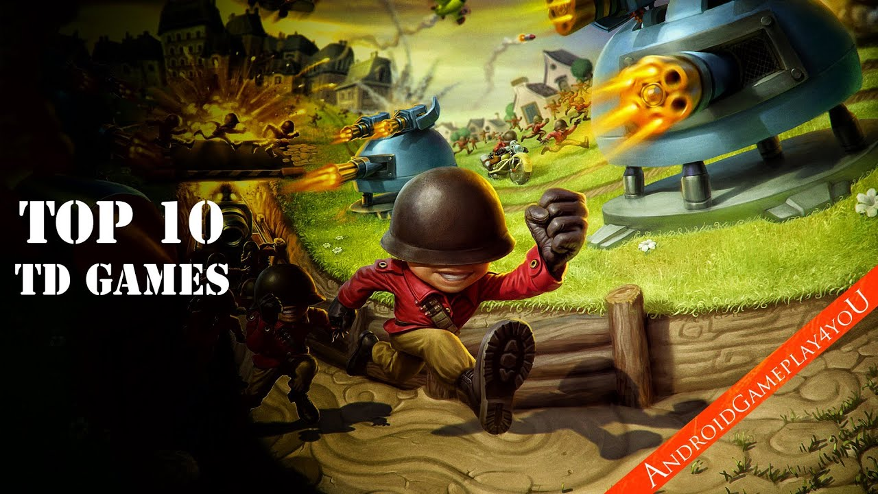 top 10 best android tower defense 2014 hd