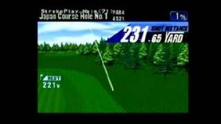 Tee Off Golf Dreamcast Gameplay