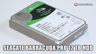 Seagate BarraCuda Pro 12TB harddisk review - Hardware.Info TV (4K UHD)