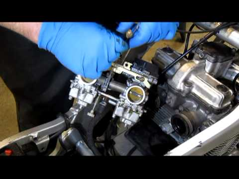Suzuki GS500 Basic Carb Jet Cleaning  YouTube