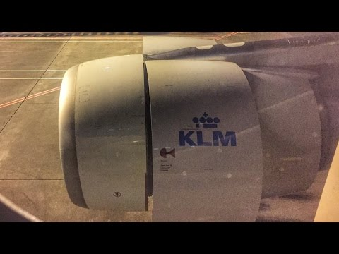DELAY with KLM - Airbus from SXM - 동영상