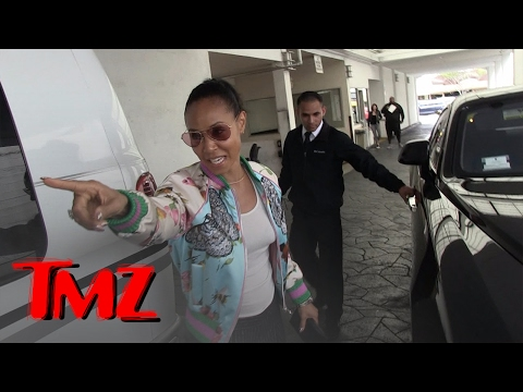 Jada Pinkett Smith Goes After Paparazzi For Scratching Her Car | TMZ
