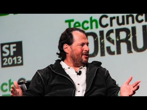 Salesforce CEO Discusses Building a Lasting Legacy | Disrupt SF 2013