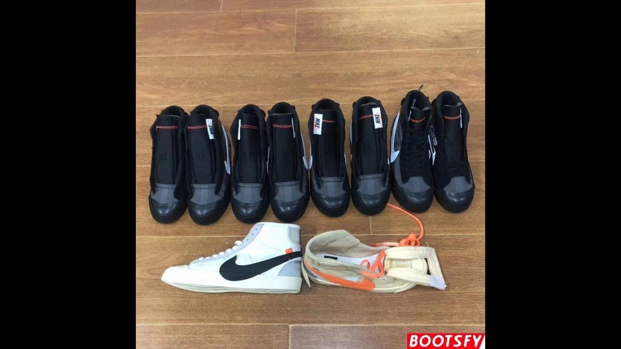 promo code 055aa bd3b6 Nike Blazer Mid Off White Grim Reaper