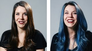 Women Dye Their Hair For The First Time