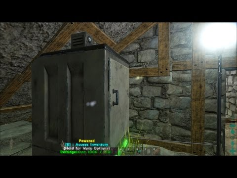 ARK: Survival Evolved #27 - Utilities: Running Water & Power