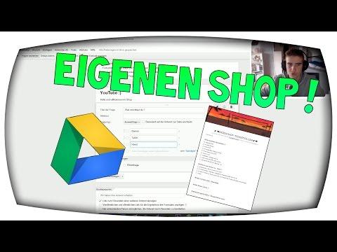 EIGENEN SHOP ERSTELLEN ! | TUTORIAL