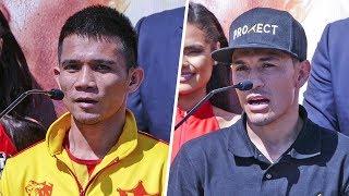 Rungvisai vs. Estrada & Roman vs. Doheny FINAL PRESS CONFERENCE | DAZN