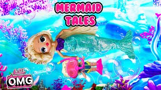 LOL Surprise OMG Swag and MC Swag Mermaid Story Diving Adventure
