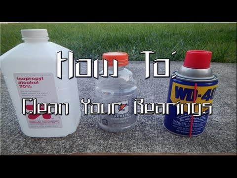 How To - Properly Clean Your Bearings