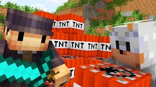 MINECRAFT: WALKA NA TNT!